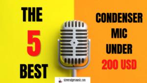 best condenser mic under 200USD